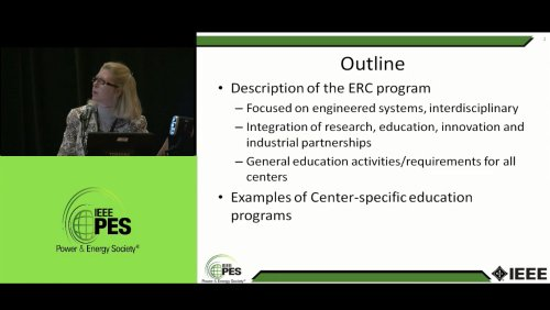 Engineering Research Centers - Workforce Development through the Integration of Research, Education and Innovation (Video)