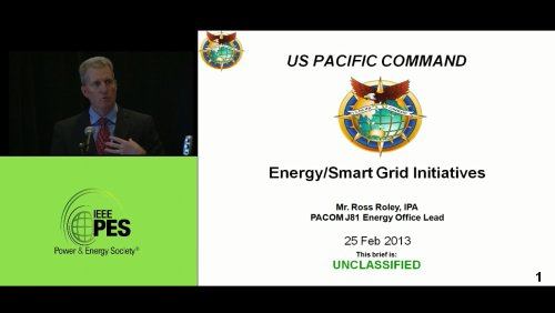 Energy/Smart Grid Initiatives - Ross Roley (Video)