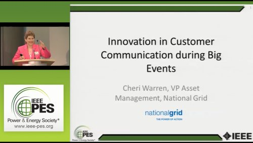 Innovation in Customer Communication during Big Events (Video)