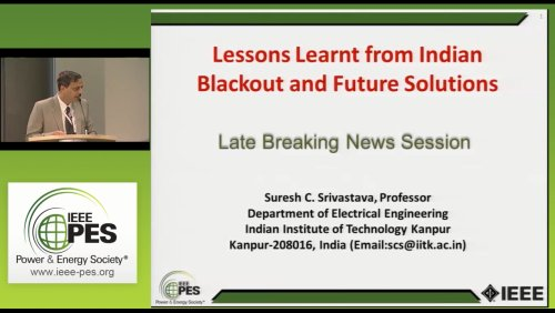 Lessons Learnt from Indian Blackout and Future Solutions (Video)