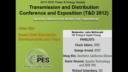 Smart Grid Standards: Developments and Gaps (Video)