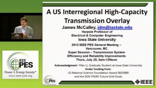 A US Interregional High-Capacity Transmission Overlay (Video)