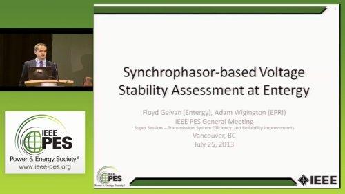 Synchrophasor-based Voltage Stability Assessment at Energy (Video)