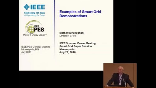 Examples of Smart Grid Demostrations (Video)