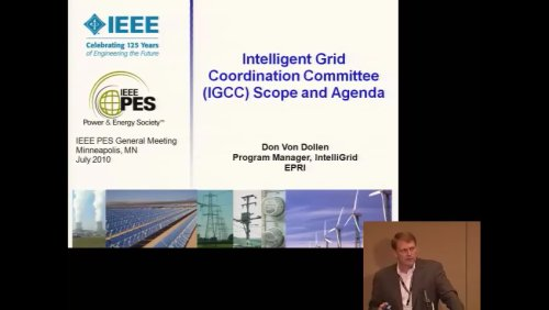 Intelligent Grid Coordination Committee (IGCC) Scope and Agenda (Video)