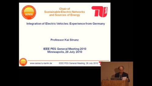 Integration of Electric Vehicles: Experience from Germany (Video)