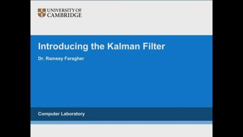 Introducing the Kalman Filter