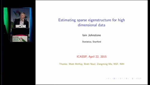 Estimating Sparse eigenstructure for High Dimensional Data