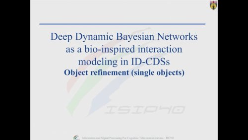 Deep Dynamic Bayesian Networks as a bio-inspired interaction modeling in ID-CDSs