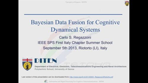 Bayesian Data Fusion for Cognitive Dynamical Systems