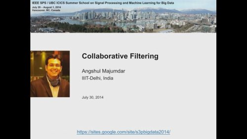 Collaborative Filtering II