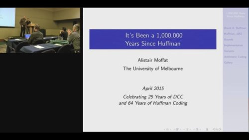 It's Been A 1,000,000 Years Since Huffman