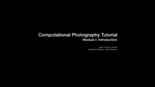 Computational Photography B