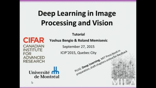 Deep Learning in Image Processing and Vision