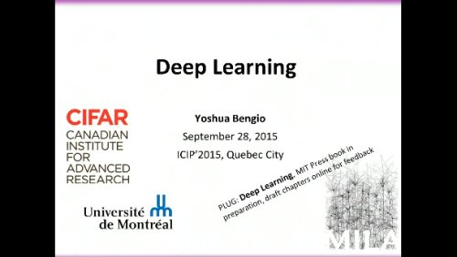 Deep Learning - Yoshua Bengio