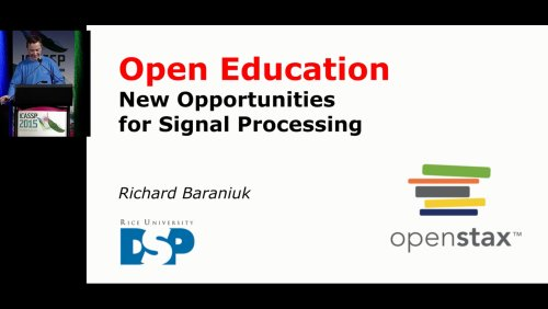 Open Education: New Opportunities for Signal Processing