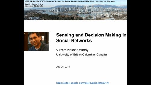 Sensing and Decision Making in Social Networks