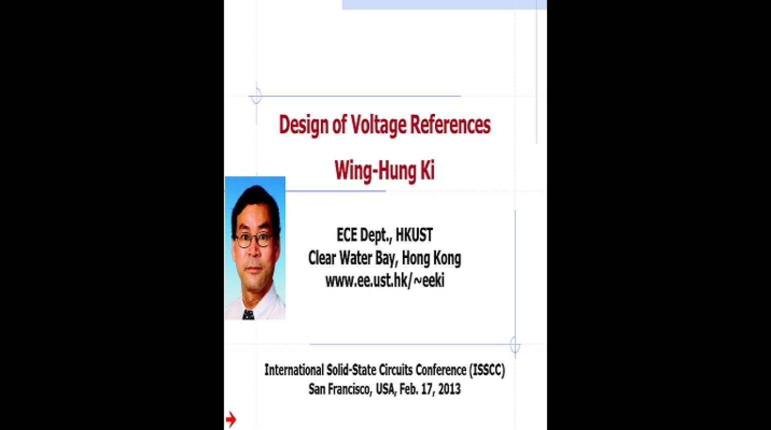 Design of Voltage References Video