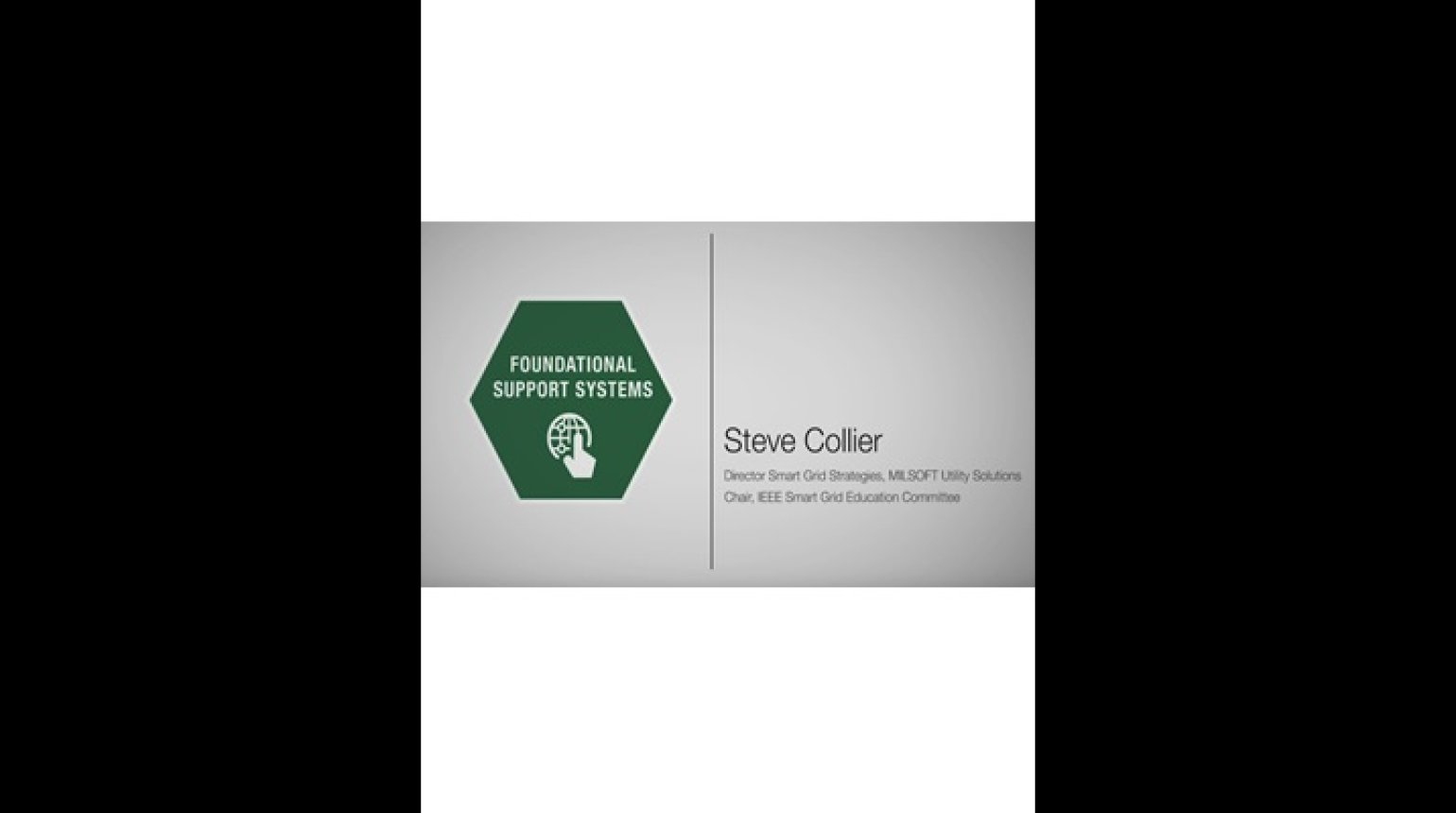 Foundational Support Systems Domain - Steven Collier