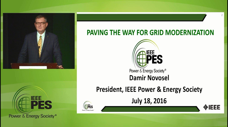 2016 IEEE PES General Meeting - Members Meeting & Plenary Session (Video)