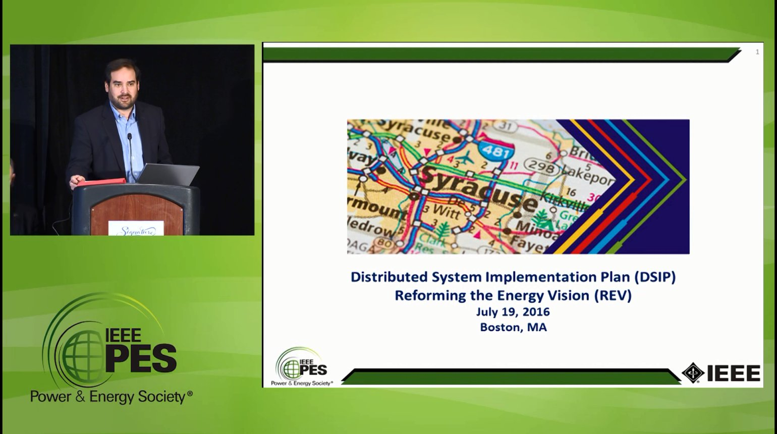 Late Breaking News - Distributed System Implementation Plan (DSIP) Reforming the Energy Vision (REV) - Video
