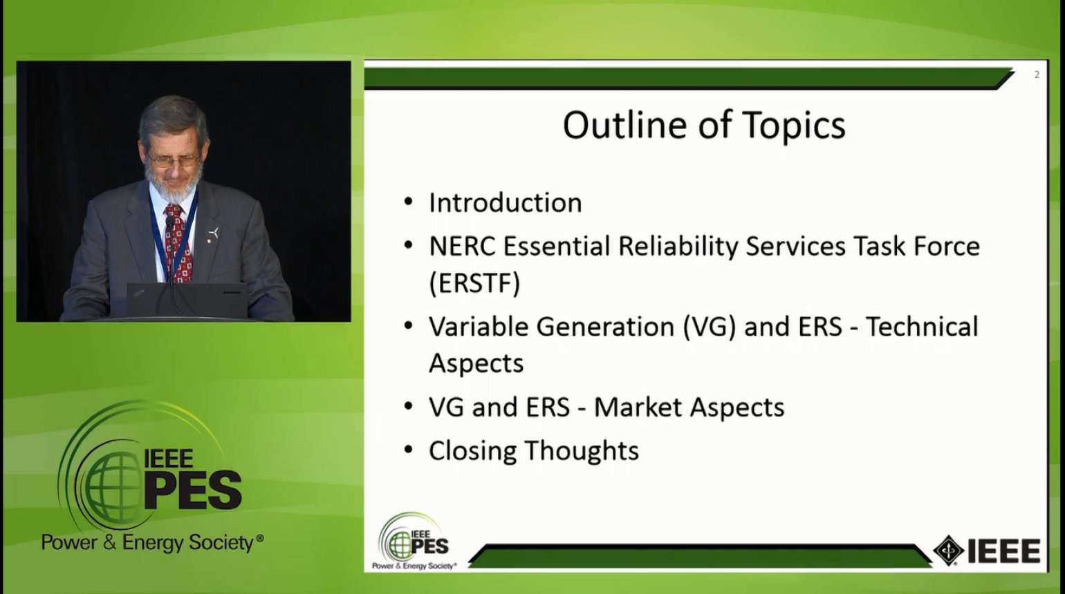 Managing Demand in a Variable Supply World - Reliability Considerations for the Power System of the Future (Video)