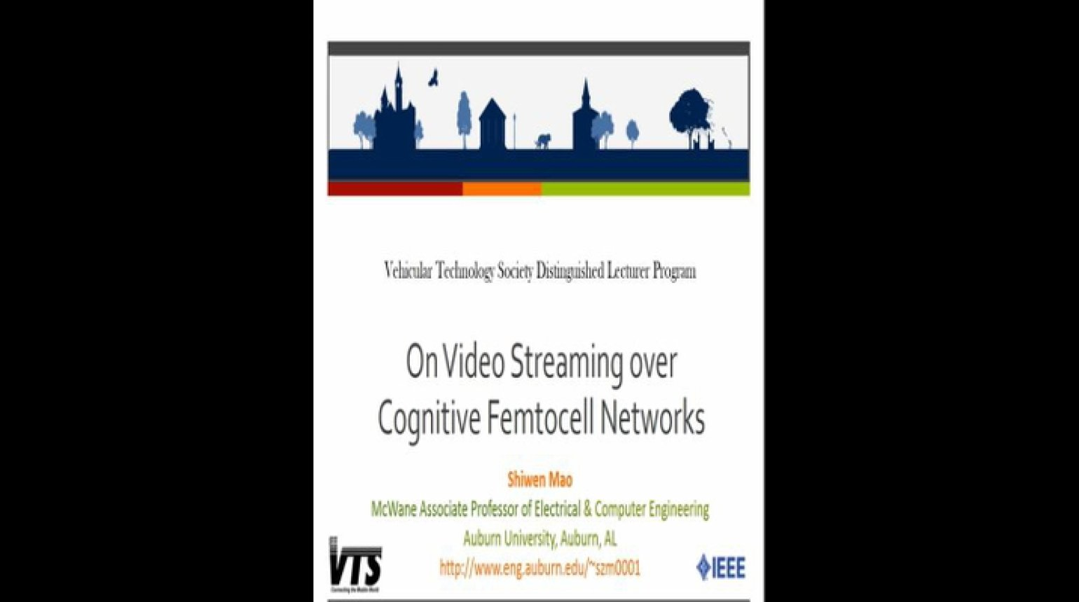 Video - On Video Streaming over Cognitive Femtocell Networks