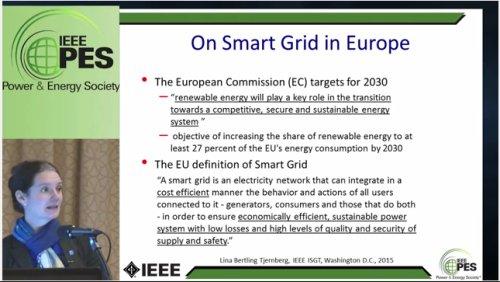 Plenary Session on Smart Grid Around the Globe (Video)