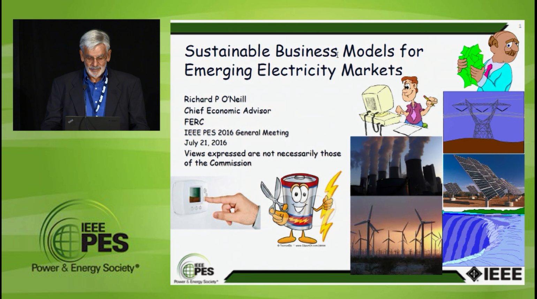 Business Models for Electricity Market - Sustainable Business Models for Emerging Electricity Markets (Video)