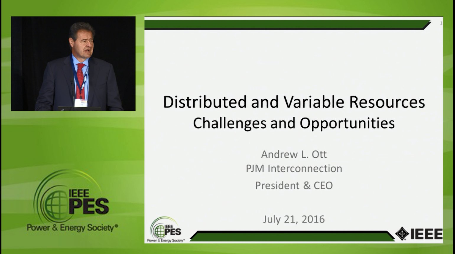 Business Models for Electricity Market - Distributed and Variable Resources Challenges and Opportunities (Video)