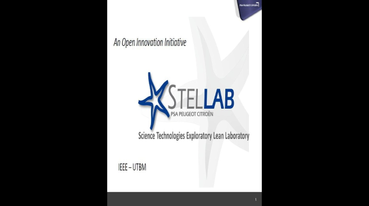 Video - An Open Innovation Initiative