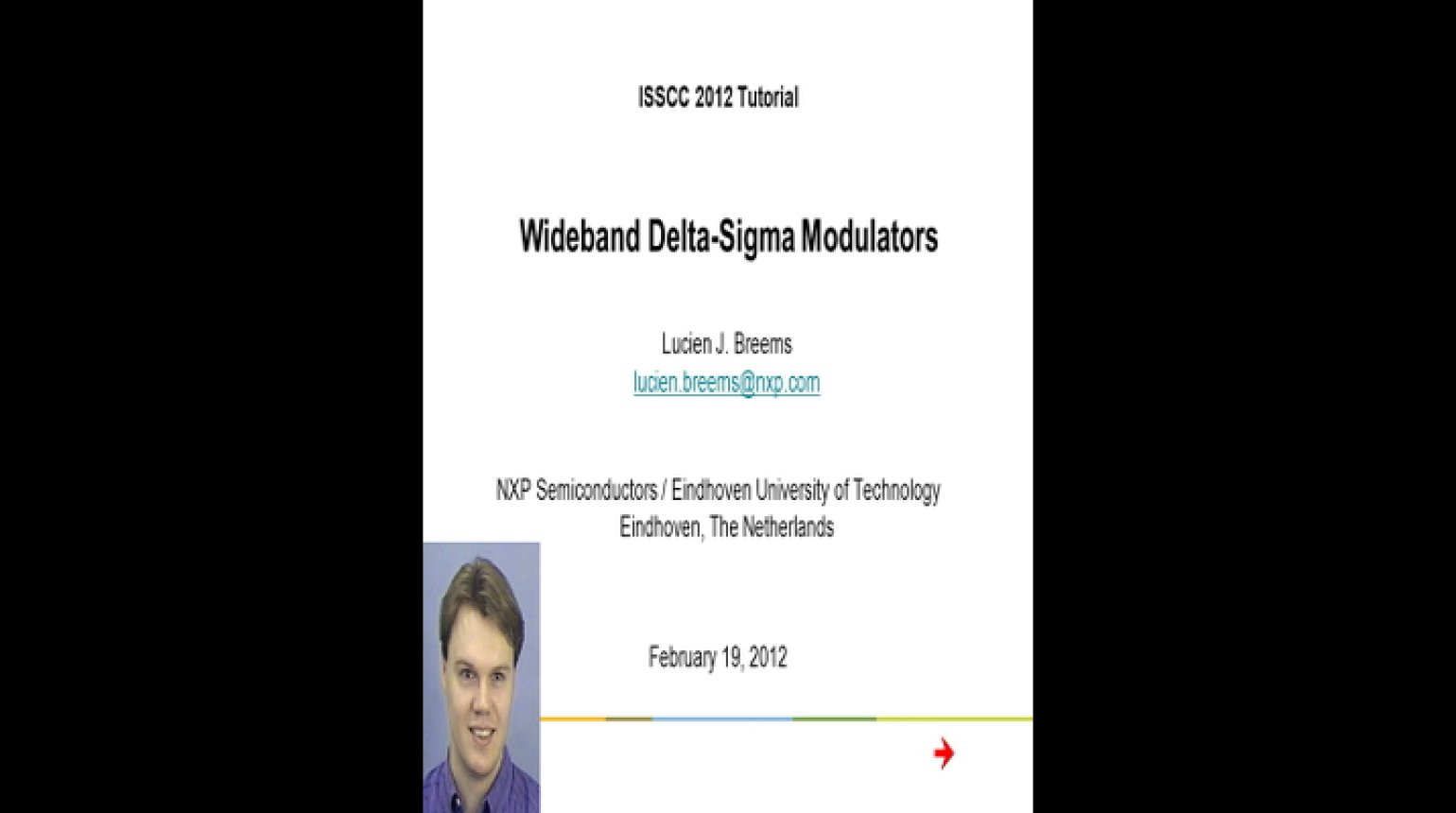 WideBand Delta Sigma Modulators Video