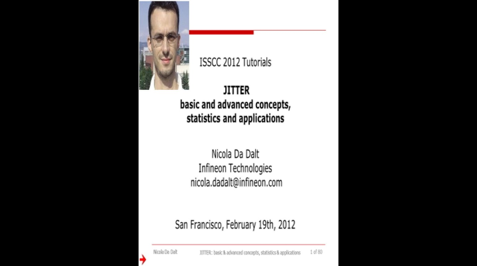 Jitter: Basic and Advanced Concepts