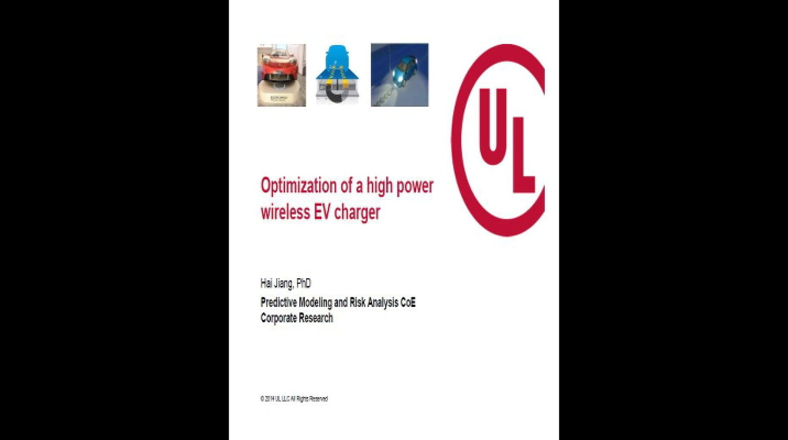 Video - Optimization of a High Power Wireless EV Charger