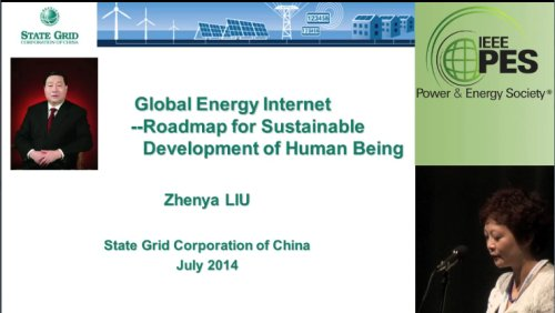 Global Energy Internet -- Roadmap for Sustainable Development of Human Being (Video)