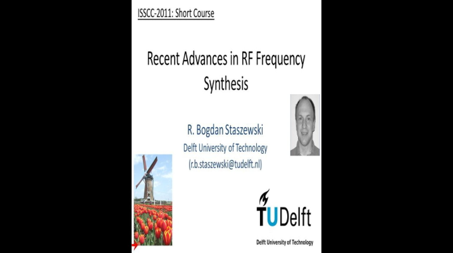 Recent Advances in RF Frequency Synthesis Video