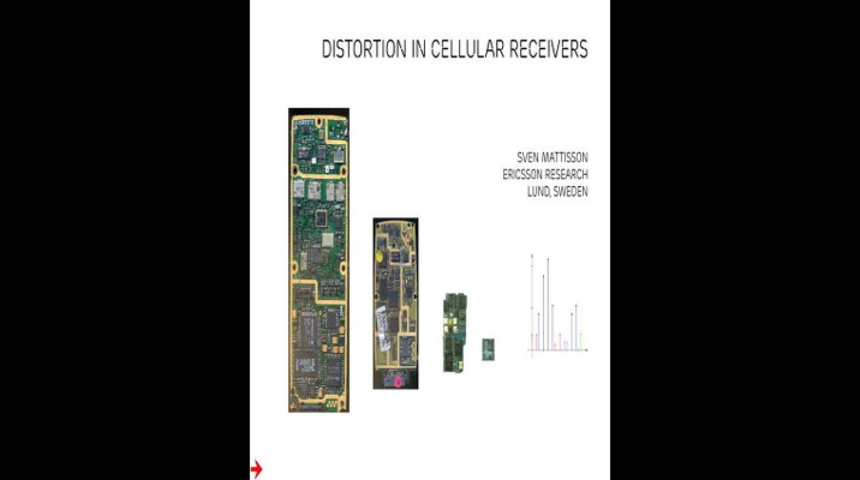 Distorsion in Cellular Receivers Video