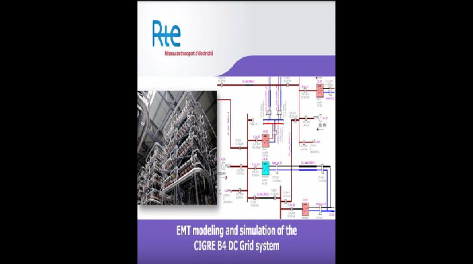 EMT Modeling and Simulation of the CIGRE B4 DC Grid System