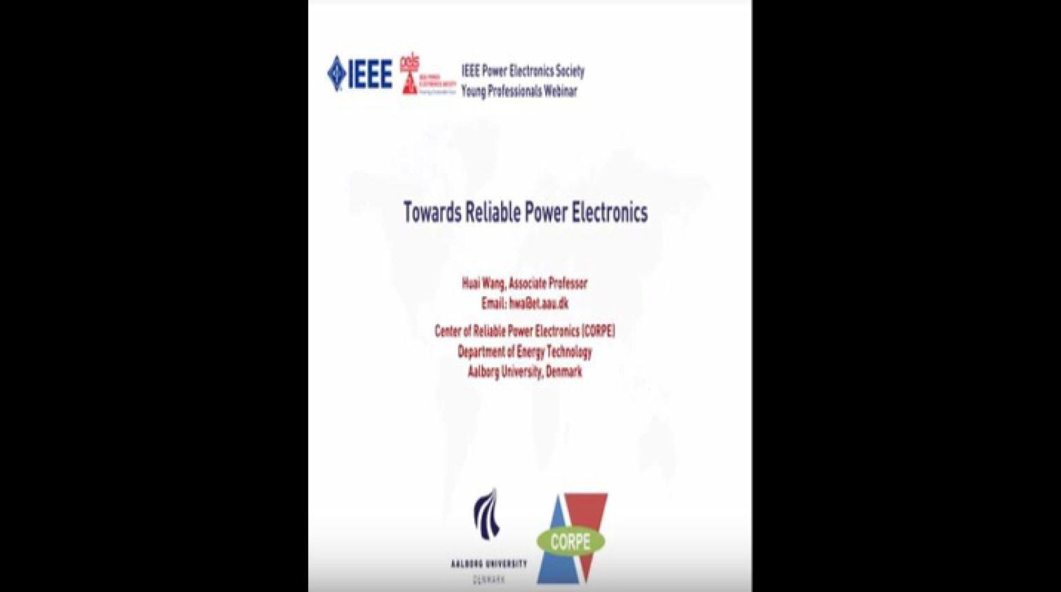Towards Reliable Power Electronics Video