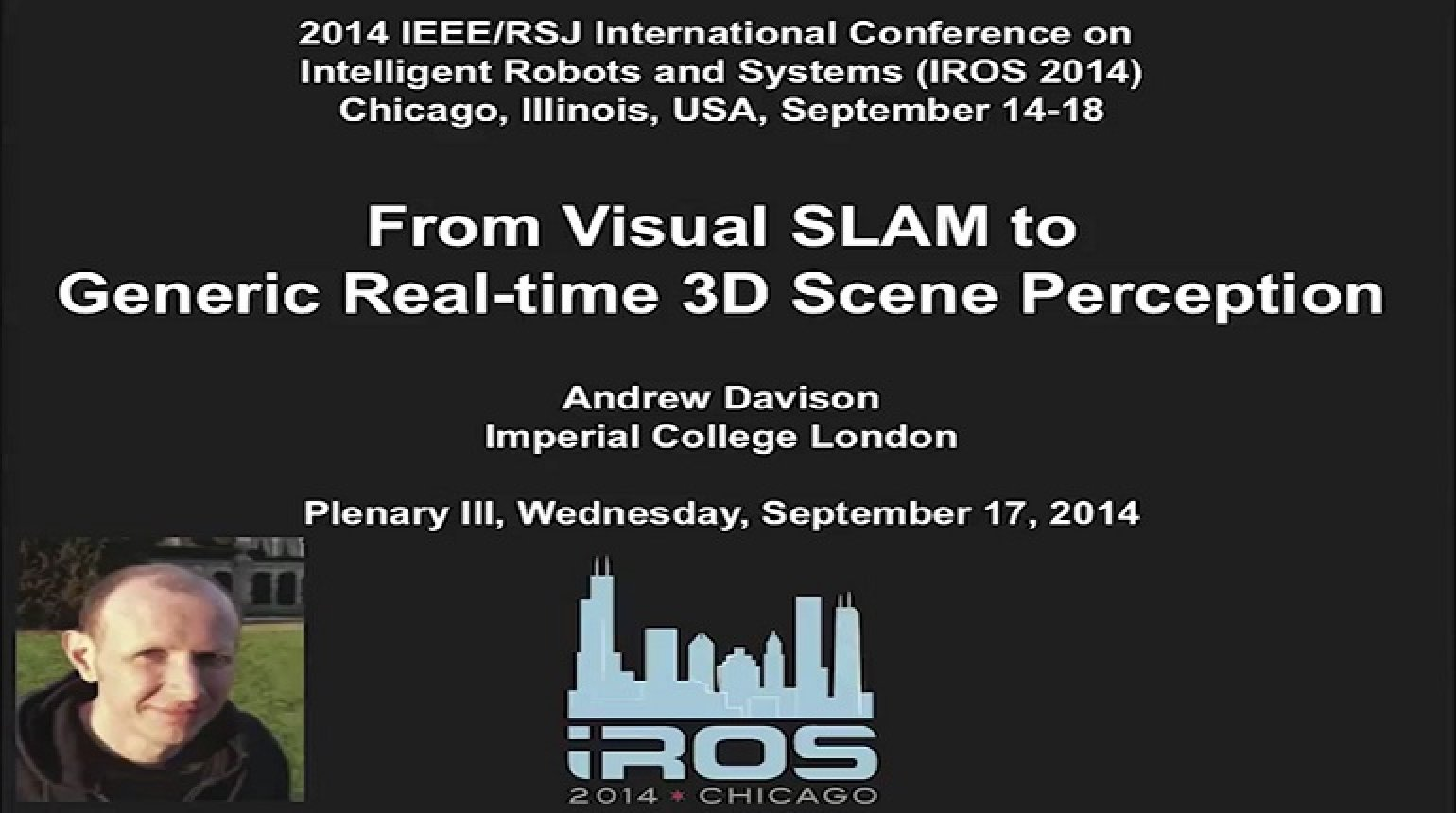 From Visual SLAM to Generic Real-Time 3D Scene Perception