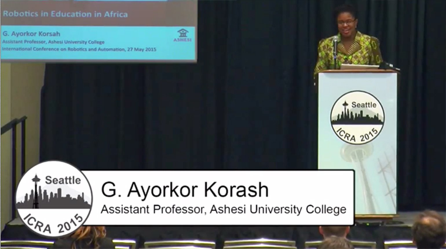 Robotics in Education in Africa Video