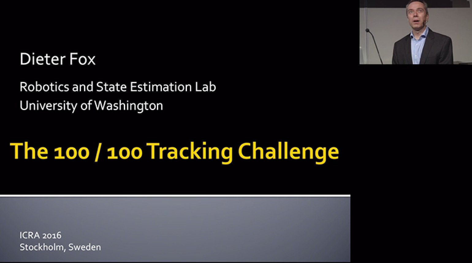 The 100-100 Tracking Challenge Video