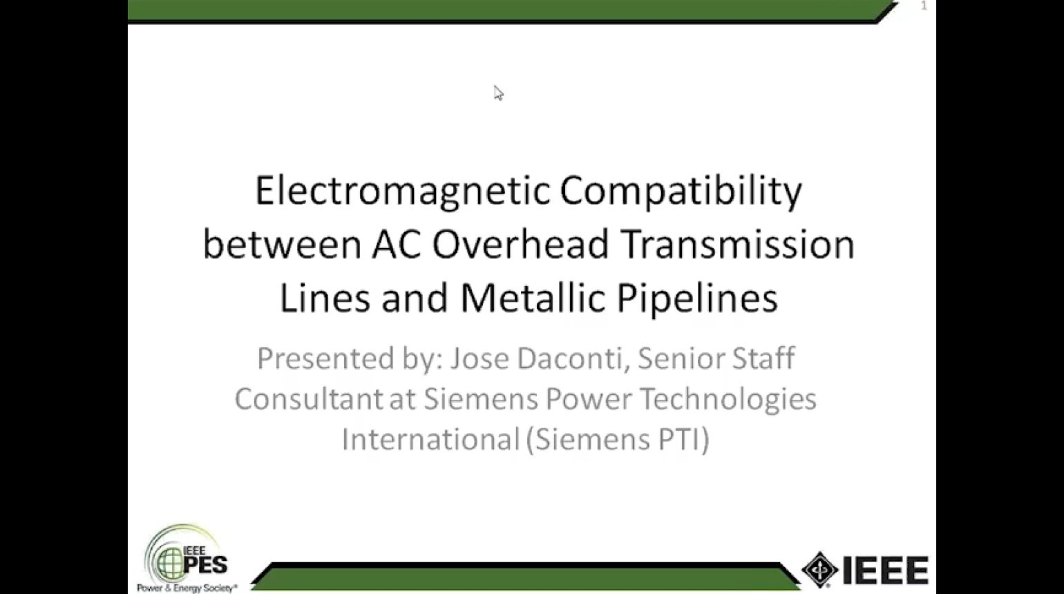 Electromagnetic Compatibility between AC Overhead Transmission Lines and Metallic Pipelines