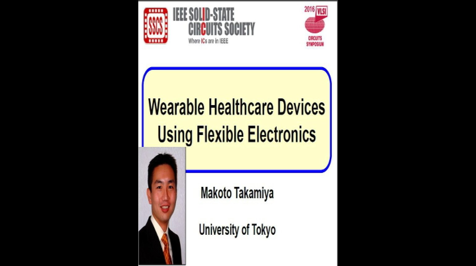 Wearable Healthcare Devices Using Flexible Electronics Video