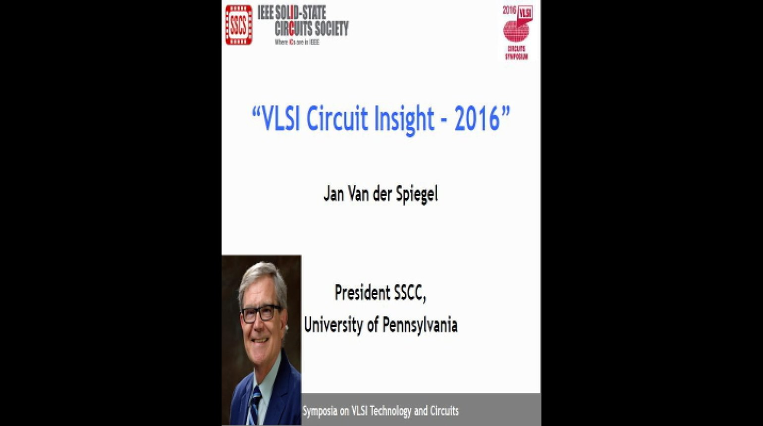 VLSI Circuit Insight 2016 Video