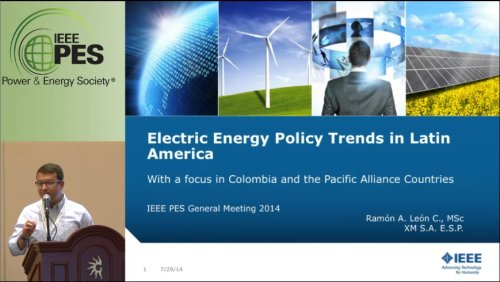 Electric Energy Policy Trends in Latin America (Video)