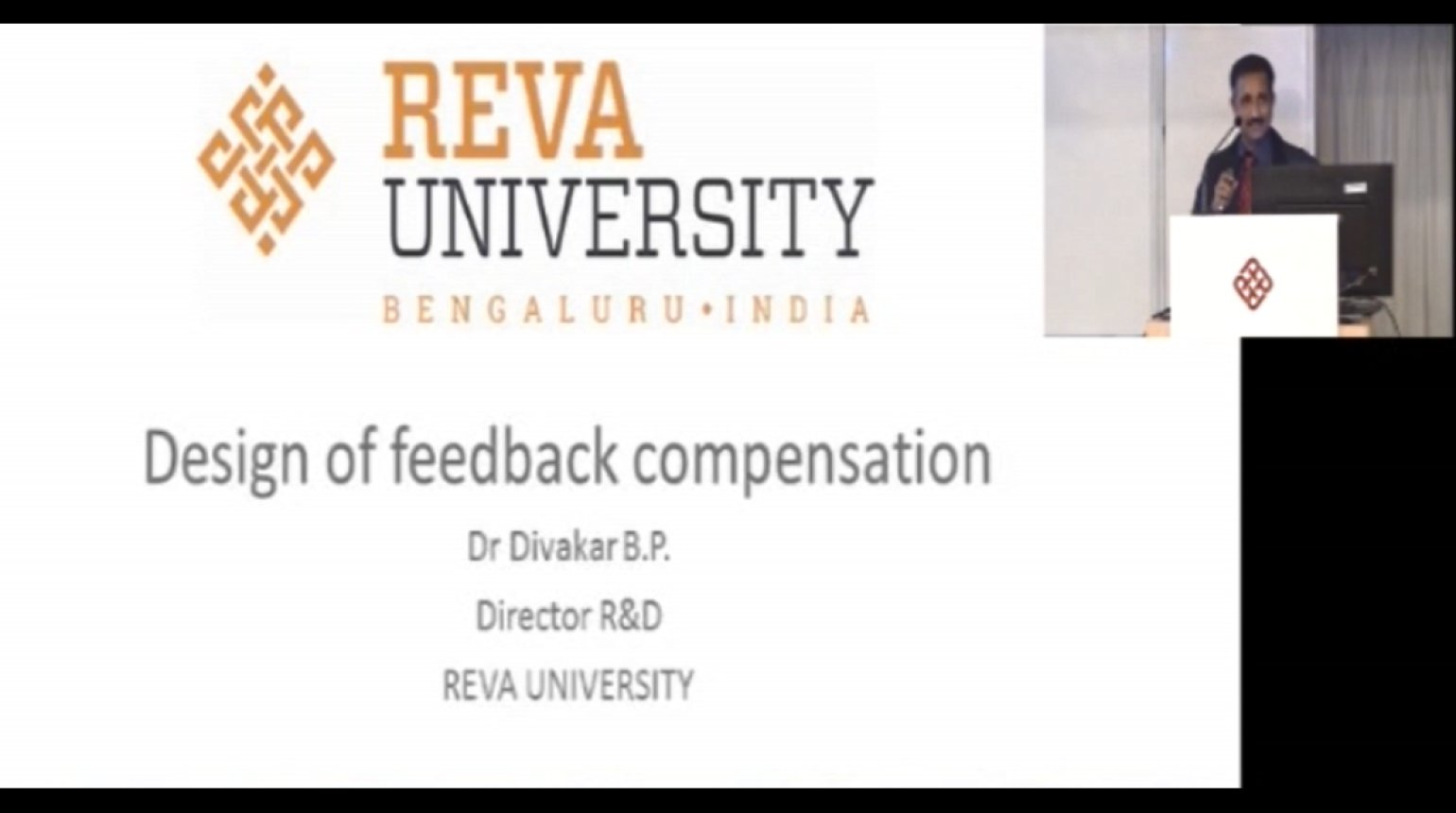 Design of feedback compensation