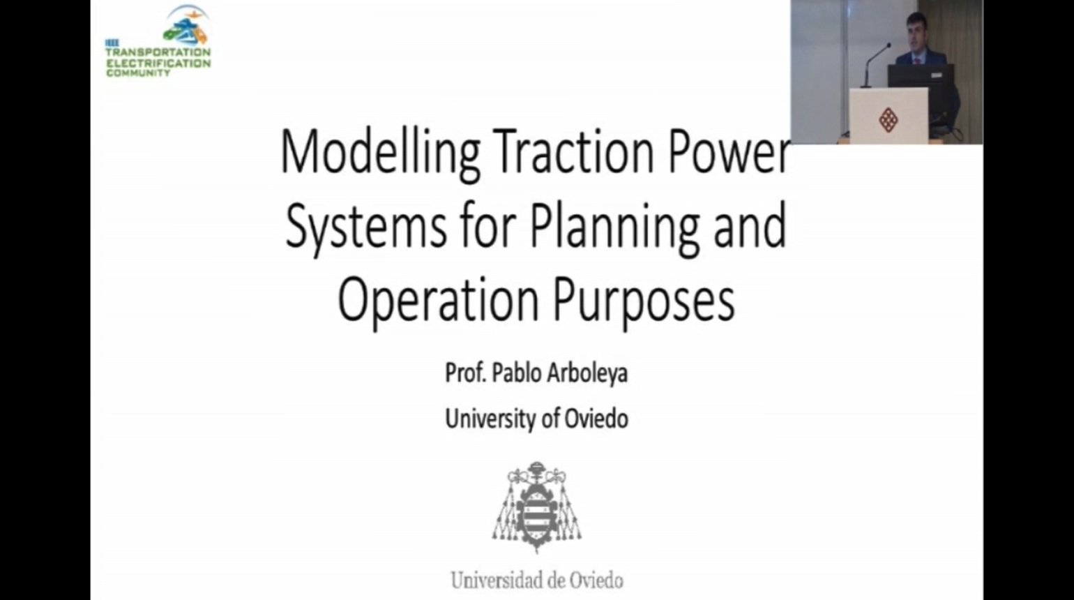 Modelling Traction Power Systems for Planning and Operation Purposes