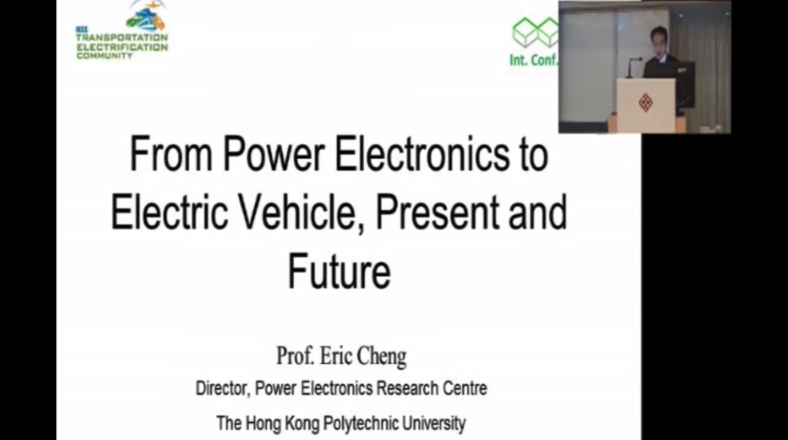 From Power Electronics to Electric Vehicle, Present and Future