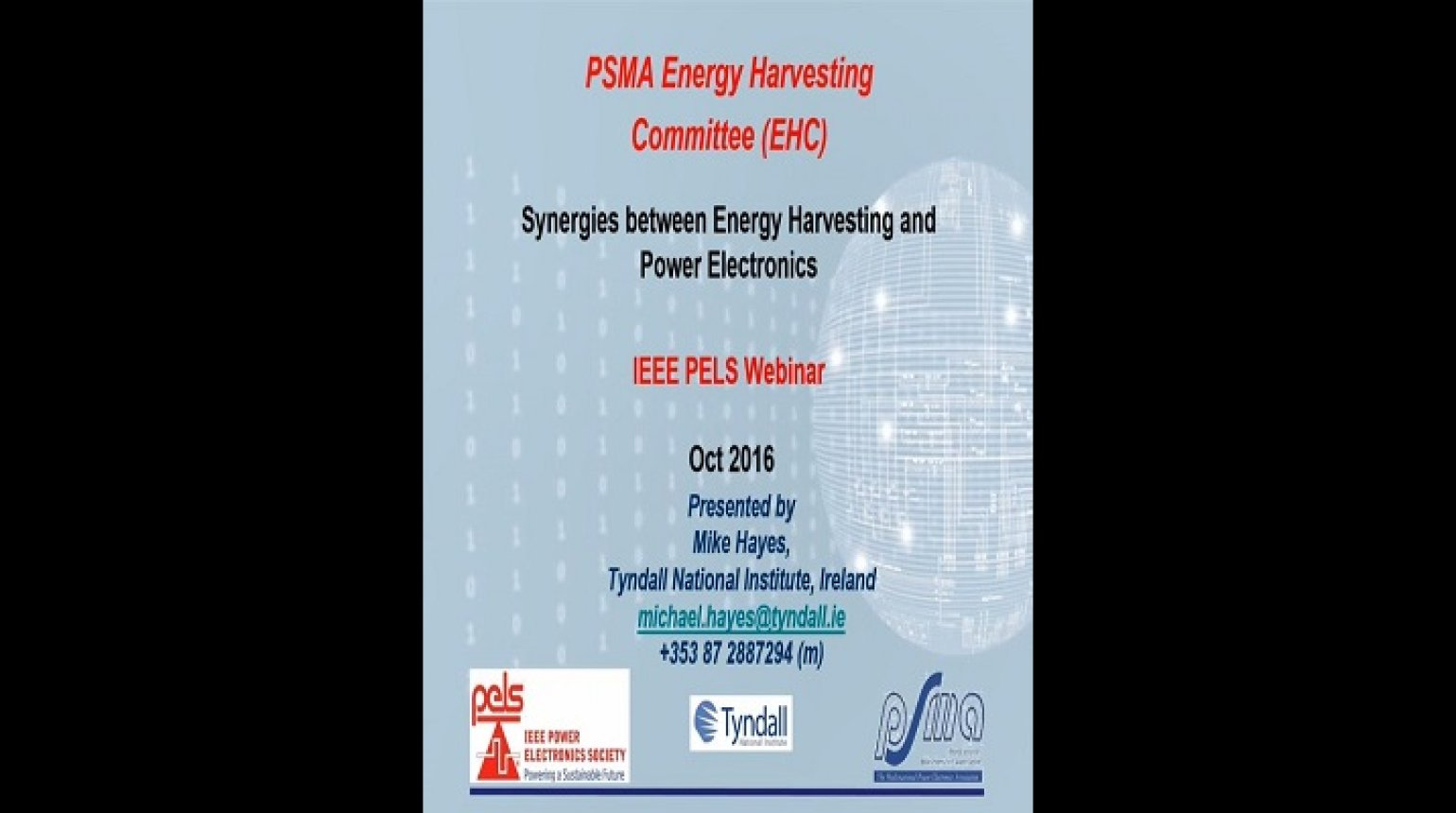 Synergies between energy harvesting and power electronics Video